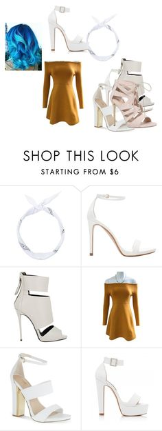 """Fairy tail: Levy"" by outfitsdisney ❤ liked on Polyvore featuring Zara, Giuseppe Zanotti, Carvela and Forever New"