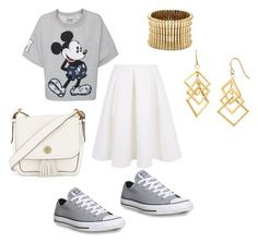 Mickey by dobra-01 on Polyvore featuring мода, Paul & Joe Sister, Keepsake the Label, Converse, Tory Burch and Sole Society