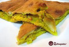 Empanada gallega de bacalao y pasas - Recetasderechupete.com