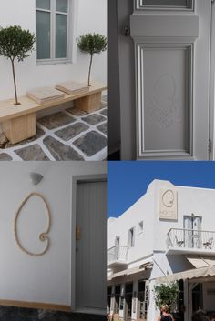 Change of frames, handrails on the balconies, curtain rods, benches and signs, all made with solid Accoya wood.  www.evripiotis.eu  Αλλαγή των κουφωμάτων, κουπαστές στα μπαλκόνια, κουρτινόξυλα παγκάκια και ταμπέλες όλα από μασίφ ξύλο Accoya.  #accoya #accoyawood #woodendoors #woodenwindows #woodenshutters #paros #kyklades #greece #architercture #dreamhouse #bestwoodaccoya #greekarchitecture #replacewindows #foldingframes #foldingshutters #woodandstone #internaldoors #allwithwood Outdoor Curtain Rods, Sheer Curtain Panels, Outdoor Curtains, Window Panels, Outdoor Rooms, Outdoor Decor, Balcony Curtains, Home Curtains, Window Hanging