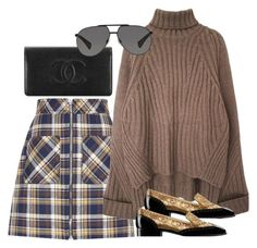 """""""Untitled #2456"""" by erinforde ❤ liked on Polyvore featuring Miu Miu, Chanel and Dolce&Gabbana"""