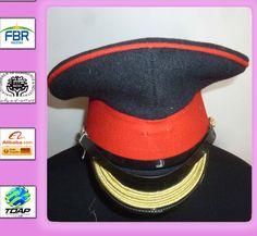 9de05f337bc MILITARY PEAK CAP HOUSEHOLD CAVALRY FORAGE CAP SIZE 56CM BRITISH ARMY