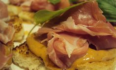 pb w/prosciutto. Would be delicious with fig jam!