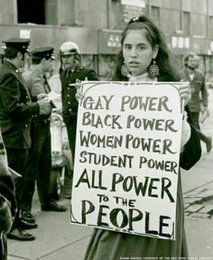 its a human rights issue afterall. this photo was taken in like the 70's or somesh!t. evolve already people!... you go gypsy grrrrl