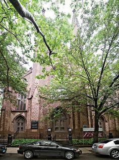 First Unitarian Church (1844), 50 Monroe Place, Brooklyn Heights, New York