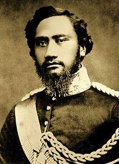 King Kamehameha IV of Hawaii