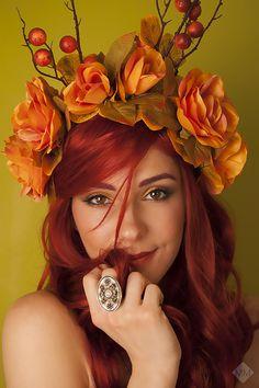 """""""Autumn"""" Part 1 Self portrait by Mandy Mennen Photography"""
