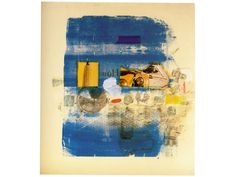 rauschenberg blah but also quite striking so maybe for publicity?