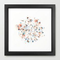 Signals Framed Art Print by Okti - $34.00