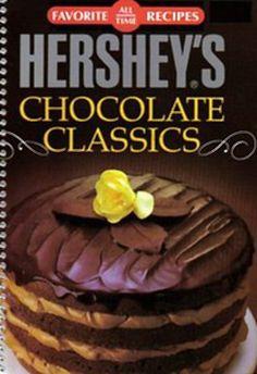 Vintage Cookbook HERSHEYS CHOCOLATE CLASSICS