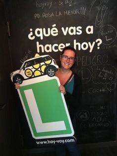 ANDREA LOPEZ!!! #hoyvoy #autoescuela #granollers