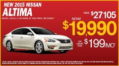 2015 Nissan! Great deal! Low payments!