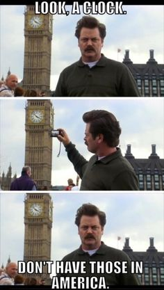 Around the World with Ron Swanson.