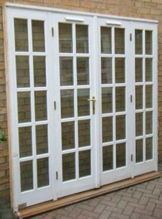1000 ideas about double french doors on pinterest for Patio doors with side windows