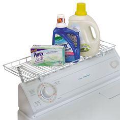 Over Washer Storage Shelf