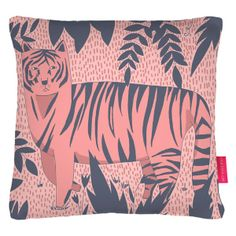 Tiger Kitty Cushion | Ohh Deer | Wolf & Badger