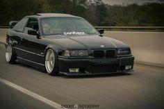 BMW E36 3 series black