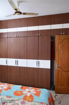 Naveen: modern Bedroom by single pencil architects & interior designers Ceiling Design Living Room, Bedroom False Ceiling Design, Bedroom Cupboard Designs, Bedroom Closet Design, Bedroom Furniture Design, Home Room Design, Furniture Sets, Wall Wardrobe Design, Wardrobe Laminate Design