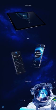 """Check out this @Behance project: """"VORTEX ICO. Landing page"""" https://www.behance.net/gallery/63194783/VORTEX-ICO-Landing-page"""