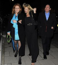 Arm in arm: Kate Moss and Duchess of York Sarah Ferguson arrive at China Tang for a Chinese New Year celebration with Jools Holland in February   Read more: http://www.dailymail.co.uk/tvshowbiz/article-2383762/Kate-Moss-enjoys-Venetian-dinner-date-close-friends-David-Tang-Sarah-Ferguson-Princesses-Beatrice-Eugenie.html#ixzz2auz3gnaQ  Follow us: @MailOnline on Twitter | DailyMail on Facebook