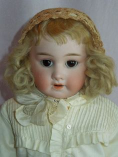 SWEET Early Schoenau Hoffmeister Kid Body Doll No Mold Number from gandtiques on Ruby Lane