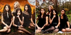 Pretty Little Liars Costumes, DIY Group Ideas for Halloween 2013