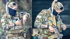 Army Police, Real Time Strategy, Military Girl, German Army, Black Star, Badass, Female, Weapons, Guns