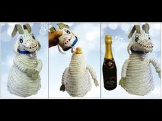 Плетёная коза из бумаги / Wicker goat paper - YouTube