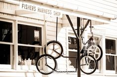 Amish Bike Shop in Lancaster County