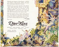 Djer-Kiss perfume illustration  http://3.bp.blogspot.com/-bXLUq6yuwzk/VoxlMtPfvEI/AAAAAAAAEMI/HeOyRLDrIEQ/s1600/DjerKissPerfume.jpg