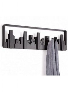 UMBRA SKYLINE MULTI HOOK 318190-040 APPENDIABITI DA MURO DESIGN