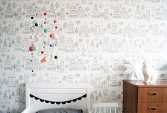 wallpaper Sandberg tyg & tapet + rabbitlamp