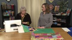Quilt As You Go with Karen Charles - After seeing this video I purchased the walking foot and additional three interchangeable accessorie feet.  You would never know after quilt is finished, that the quilt was created via quilt as you go...