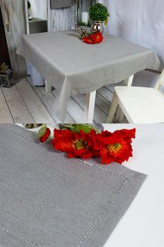 #Szary kolor to niekwestionowana elegancja. Gładki materiał #poliestrowy #obrusu, wykończony lamówką i mereżką to klasa sama w sobie. Wymiar: 140 x 220 (+/-3cm) Kształt: Prostokąt Materiał: 100% poliester Kolor: Popiel (szary) Wykończenie: Mereżka + #lamówka  #szaryObrus #poliestrowyObrus #obruszMereżką #obruszLamówką #mereżka #galanteriaStołowa #wyposażenieWnętrz #dekoracja Table, Furniture, Home Decor, Scrappy Quilts, Decoration Home, Room Decor, Tables, Home Furnishings, Home Interior Design