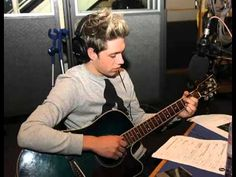WATCH THIS! You WONT regret it!!!! Niall Horan's covers songs on BBC Radio 1 - YouTube