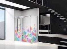 Customize your Shower Enclosure or Bath Enclosure Shower Enclosure, Modern Architecture, Bathtub, Colours, Curtains, Mirror, Inspiration, Furniture, Design
