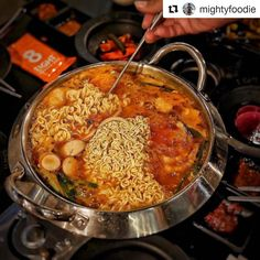Here we go again.  #Repost @mightyfoodie (@get_repost)  It's lunch time and I am so hungry!! Suddenly have crave for this Army Stew hotpot @8koreanbbq now! . Location: 1 Scotts Road Shaw Centre #04-20/21 Singapore 228208 . #8koreanbbq #koreanbbq #burpple #burpplesg #nomnom #foodporn #foodgasm #foodpics