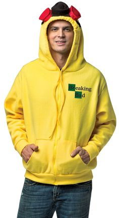 Adult Breaking Bad Hoodie Funny Costume