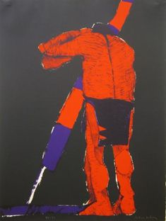 Fritz Scholder, The Odyssey #2, 1976–77.