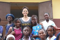 As part of @Half the Sky Movement, Eva Mendes visited the IRC-supported Girls With a Future program in Freetown, Sierra Leone. It focuses on keeping girls in school, building their confidence and skills and at the same time, reducing their vulnerability to exploitation. Read about how the experience changed her life, in People Magazine - and tune in to the first segment of Half the Sky tonight to see more IRC programs in action.