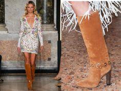 Sexy y cañera así es la tendencia en calzado para esta Spring Summer 2015 http://gentecosmo.com/2015/03/04/camperas-botas-de-latex-o-botas-jaula/