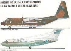 Aeronaves de la FAA en Malvinas