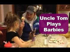 Uncle Tom takes playing Barbies to a whole new, uncomfortable level  #YouTube