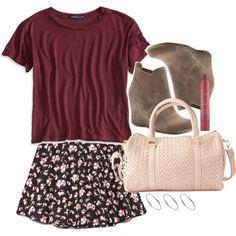 I would sooooo wear this! I love Lydia Martin's style!
