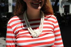 Bold rope necklace!