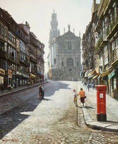 PORTO DAY Arrive by train, check in Hotel Aliados, see Lello Bookstore, Catacombs of Sao Fancisco, Cafes and check out the nightlife Places In Portugal, Portugal Travel, Portugal Trip, Porto City, Fc Porto, Oh The Places You'll Go, Places To Travel, Global Village, Catacombs