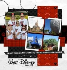 Disney love: pic from each park.