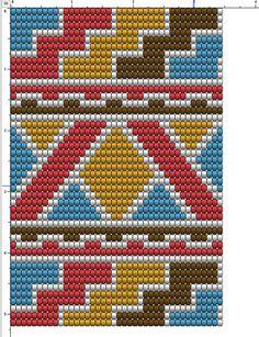 Supernatural Style Mochila Crochet, Bag Crochet, Crochet Cross, Crochet Purses, Crochet Chart, Crochet Motif, Tapestry Crochet Patterns, Crotchet Patterns, Bead Loom Patterns