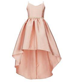 92f3857b67e Rare Editions Big Girls 7-16 Embellished-Waist Extreme High-Low Dress