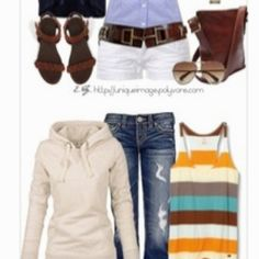 Love these outfits (: